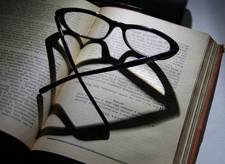 Glasses, Book, Reading, Literature, Knowledge, Books