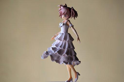 Young, Lady, Girl, Japanese, Anime, Cartoon, Tv