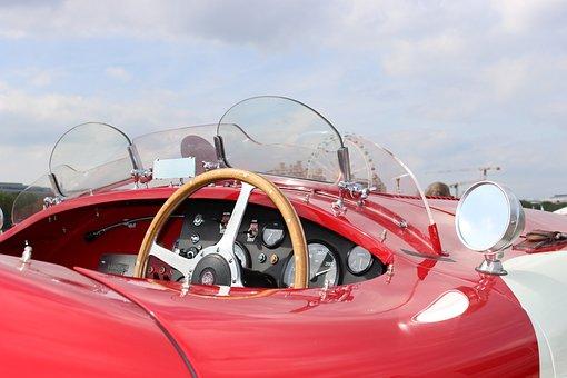 Jaguar, Old, Auto, Oldtimer