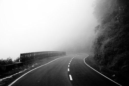 Nature, Road, Landscape, Outdoors, Cloudy, Peaceful