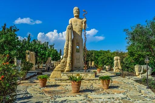 Cyprus, Mazotos, Petreon Sculpture Park