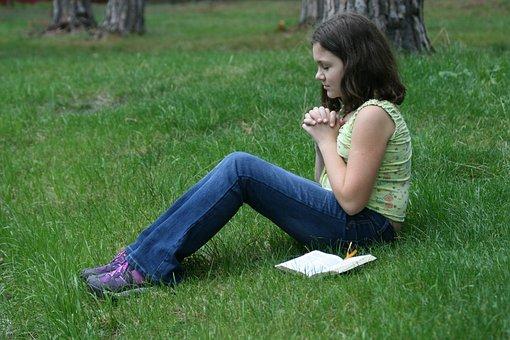 Prayer, Vera, Bible, Girl, Pray, Christianity