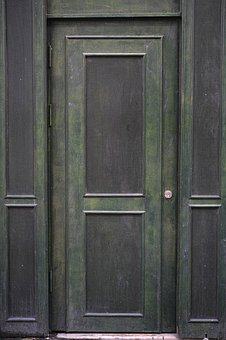 Door, Old, Retro, Ornament, Introduction, Building