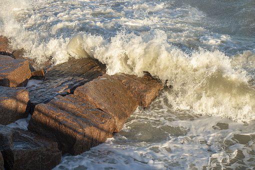 Ocean, Beach, Waves, Crashing Waves, Sea, Ocean Spray