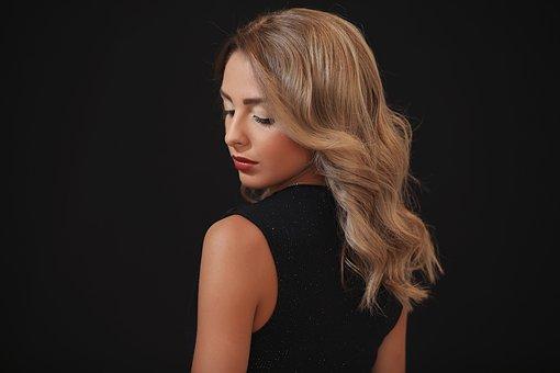 Models, Hair Salons, Sexy, Hair, Beauty, Girl, Portrait