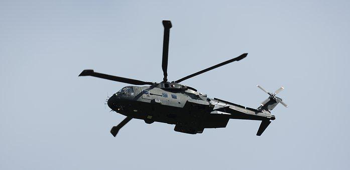Helicopter, Merlin, Royal Navy, Submarine Hunter