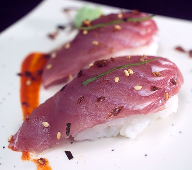 Niguiri Tuna, Tuna, Sushi, Japanese, Food