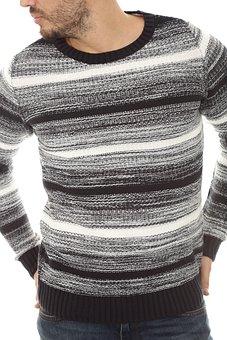 Kazakh, Grey, Male, Winter, Cold, Fashion, Textile