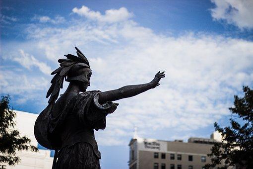 Monument, Statue, Detroit, The Russell Alger Memorial