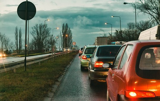 Street, The Stopper, City, Traffic, View, Transport