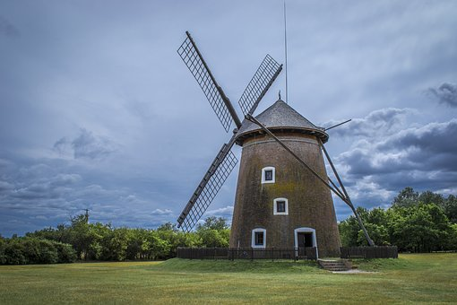 Alone, Windmill, Wing, Old