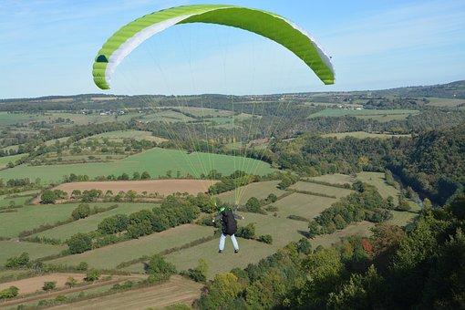 Paragliding, Paraglider, Free Flight, Fly, Aircraft