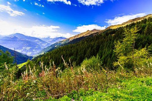 Alpine, South Tyrol, Hike, Panorama, Dolomites
