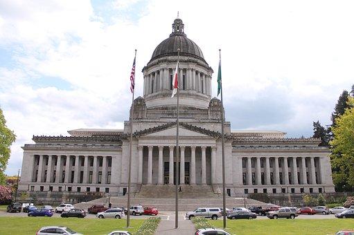 Olympia, Usa, Capitol, America, Washington, Monument