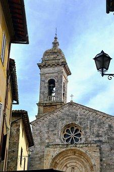 Church, Campanile, Italy, Architecture, Construction