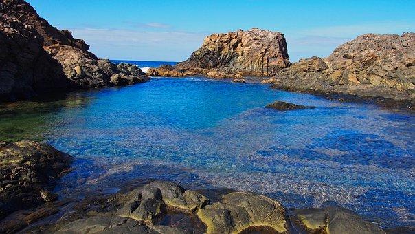 Water, Sea, Beach, Ocean, Nature, Sky, Summer, Lagoon