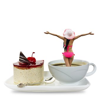 Breakfast, Coffee, Food, Aroma, Saucer, Line, Form