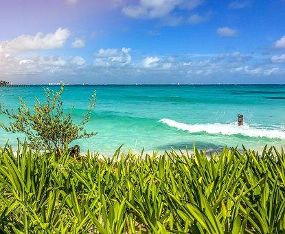 Cancun, Mexico, Beach, Travel, Caribbean, Paradise