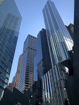 City, New York, Architecture, Buildings, Nyc, Downtown