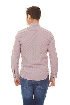 Shirt, Denim, Rear, Male, Model, Clothes, Fashion