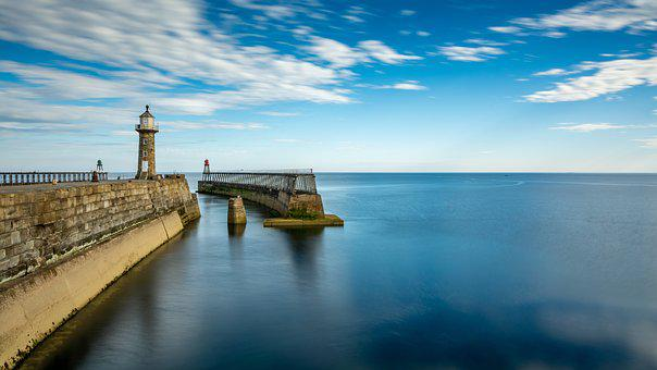 Whitby, East Pier, Yorkshire, Historic Structure