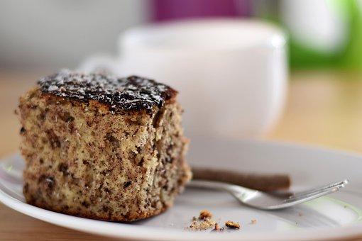 Tea, Cake, Sweet, Food, Dessert, Eat, Chocolate, Coffee