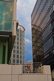 Hamburg, Harbour City, Elbe, Architecture, Building