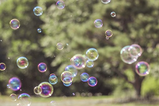 Soap Bubbles, Colorful, Flying, Float, Iridescent, Fun