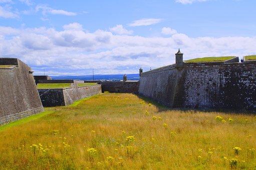 Fort George, Garrison, Fortress, Scotland
