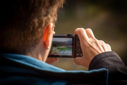 Photographer, Photo, Room, Girl, Woman, Technology