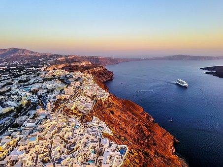 Santorini, Greece, Island, Holiday, Travel