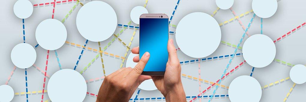 Mockup, Digitization, Networking, Social Media, Icon
