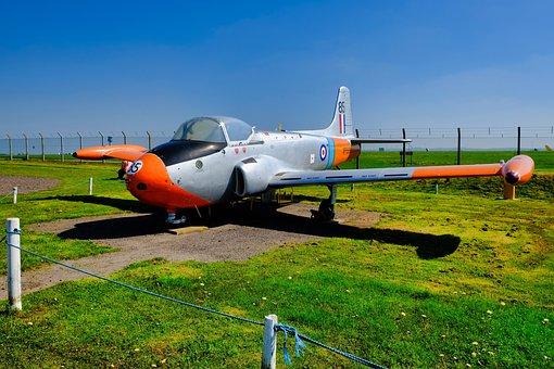 Jet Provost, Airplane, Ground, Aircraft, Aviation, Jet