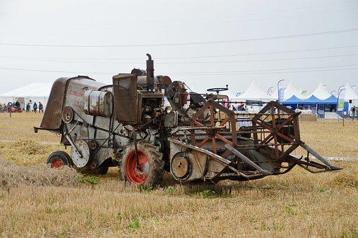 Moissonneuse Batteuse, Agriculture, Vehicle, Machine