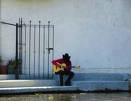 Mexico, Musician, Guitar, Music, Instrument, Mexican