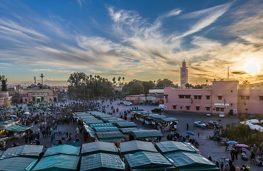 Morocco, Marrakech, Djemaa El Fna, Travel, Traditional