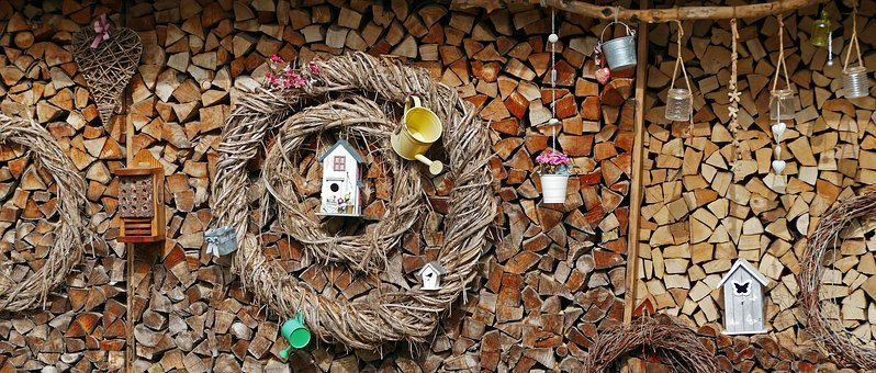 Nature, Garden, Garden Shed, Wood, Pieces Of Wood