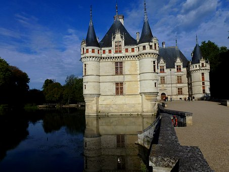 Castle, Azay Curtain, Architecture, The Story, Old