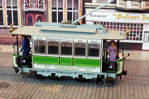 Tram, Toys, Model Train, Model Railway, Oldtimer