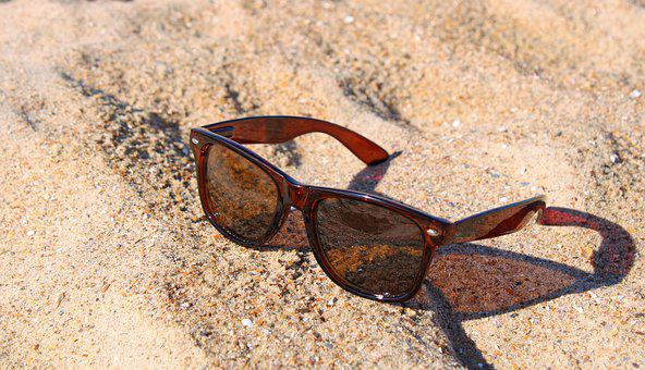 Oostende, Beach, Glasses, Sunglasses, Eye Protection