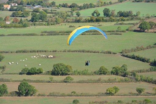 Paragliding, Paraglider, Free Flight, Aircraft, Fly
