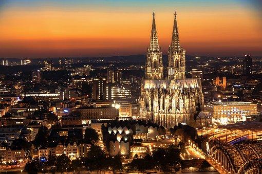 Cologne, Rhine, Dom, Germany, Landmark, Building