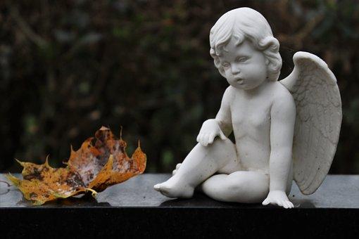 Angel, Sculpture, Wings, Sadness, Bereavement