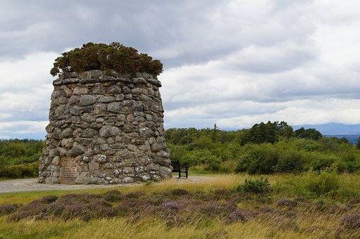 Culloden, Scotland, Battle Field, Commemorate, Memorial