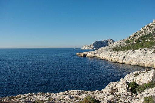 Sea, Marseille, Creeks, Heat, Hiking Been