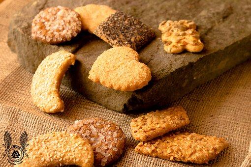 Cookies, Shortbread Cookies, Sweets