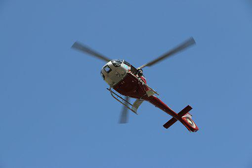 Helicopter, Flight, Aviation, Silhouette, Sky