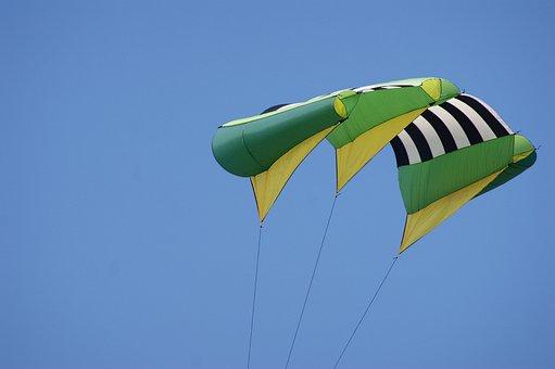 Aviator, Stuntvliegen, Kite Flying, Sports, Heaven
