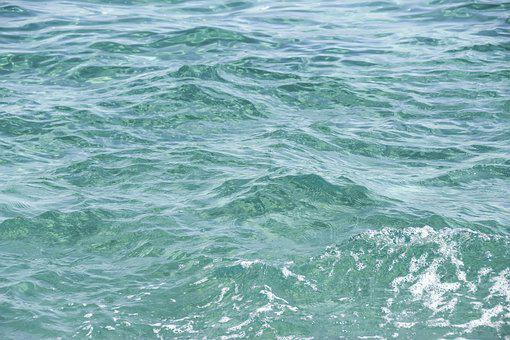 Water, Sea, Ocean, Surface, Background, Texture, Nature
