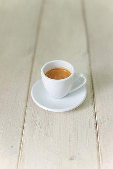 Coffee, Espresso, Drinks, Table, Morning, Caffeine, Cup